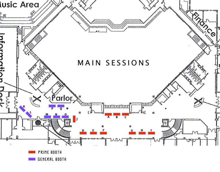 booth site-map